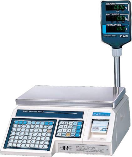 Весы с печатью CAS LP-15R(v1.6)